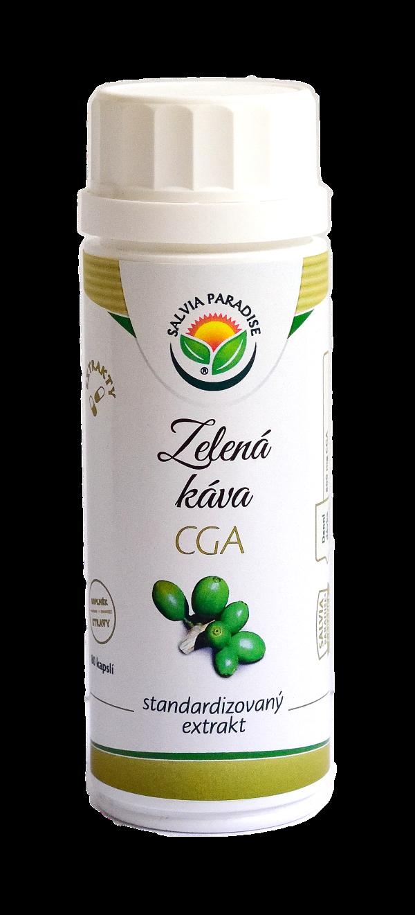 Zelená káva - CGA standardizovaný extrakt kapsle 80 ks