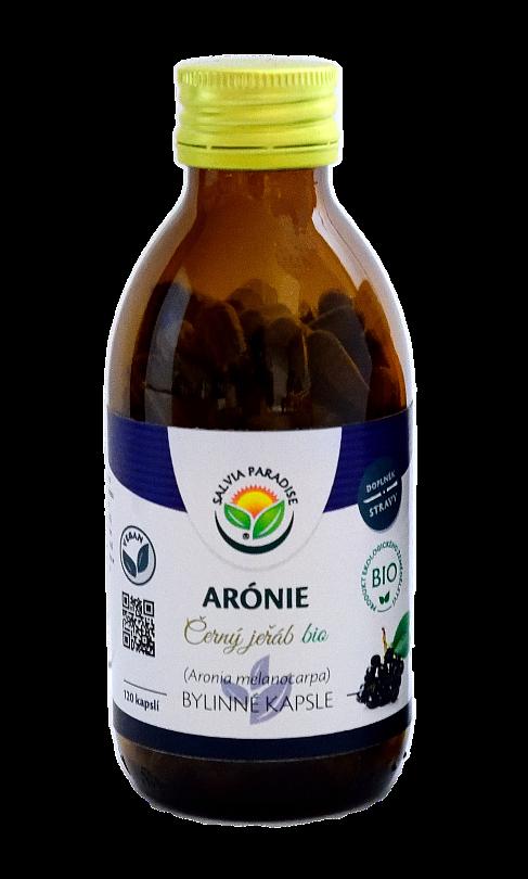 Arónie - Černý jeřáb kapsle BIO