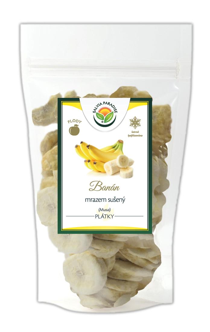 Banán plátky sušené mrazem - lyofilizované