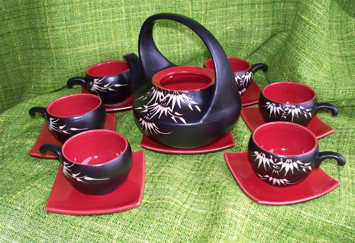 Čajová keramická souprava Xuan 400 ml