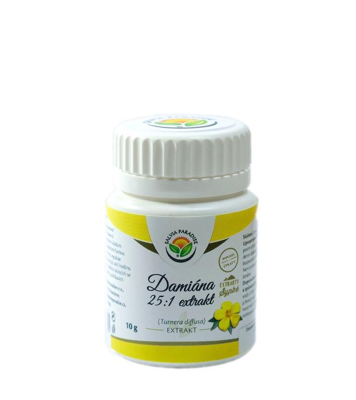 Turnera diffusa - damiána 25 : 1 extrakt 10 g