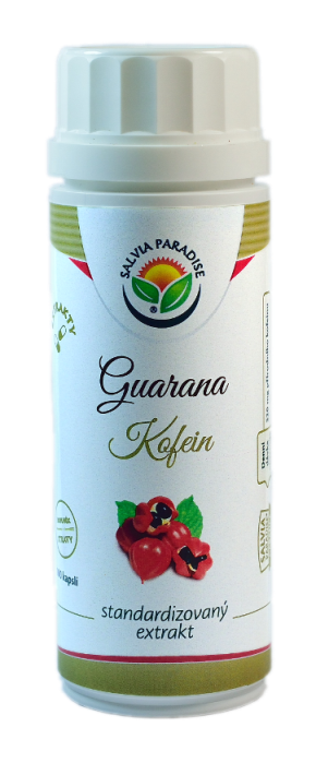Guarana standardizovaný extrakt