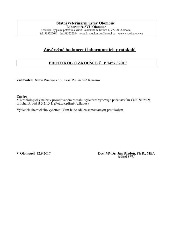 Schizandra Dongbei testování 2 stránka