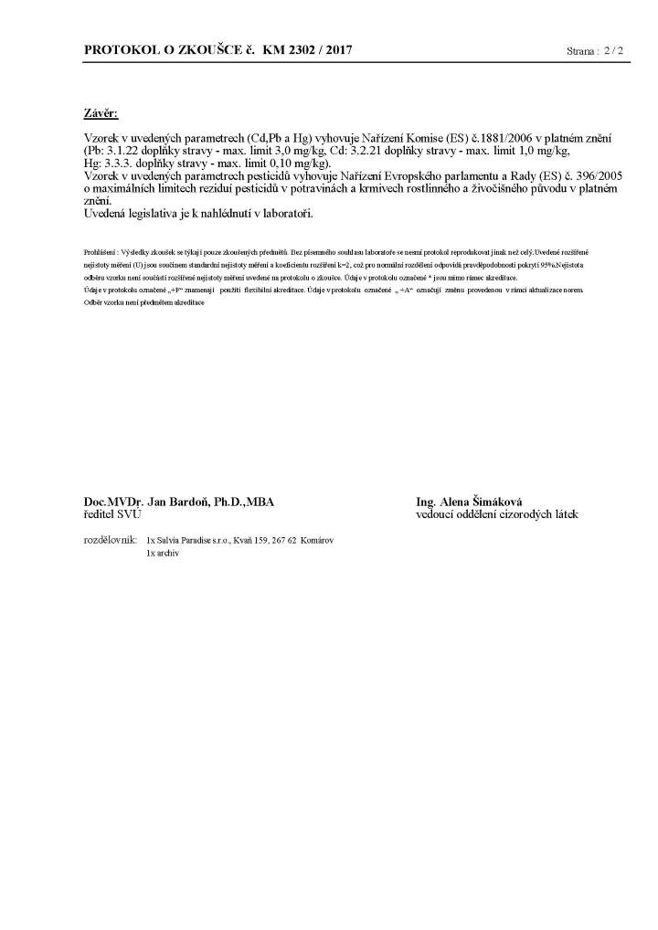 Schizandra Dongbei testování 4 stránka