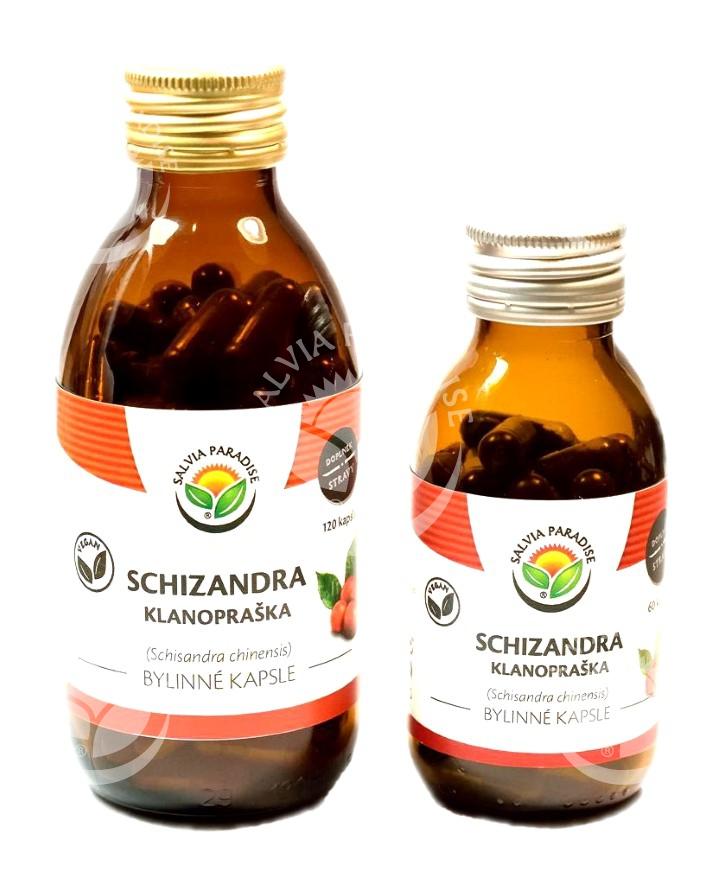 Schizandra kapsle 60 ks