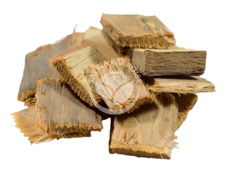 Tahuari kůra surovina
