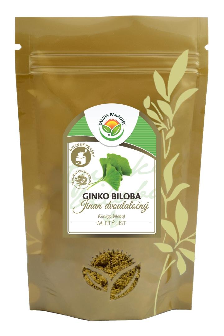 Ginkgo biloba - Ginko mletý list 120g