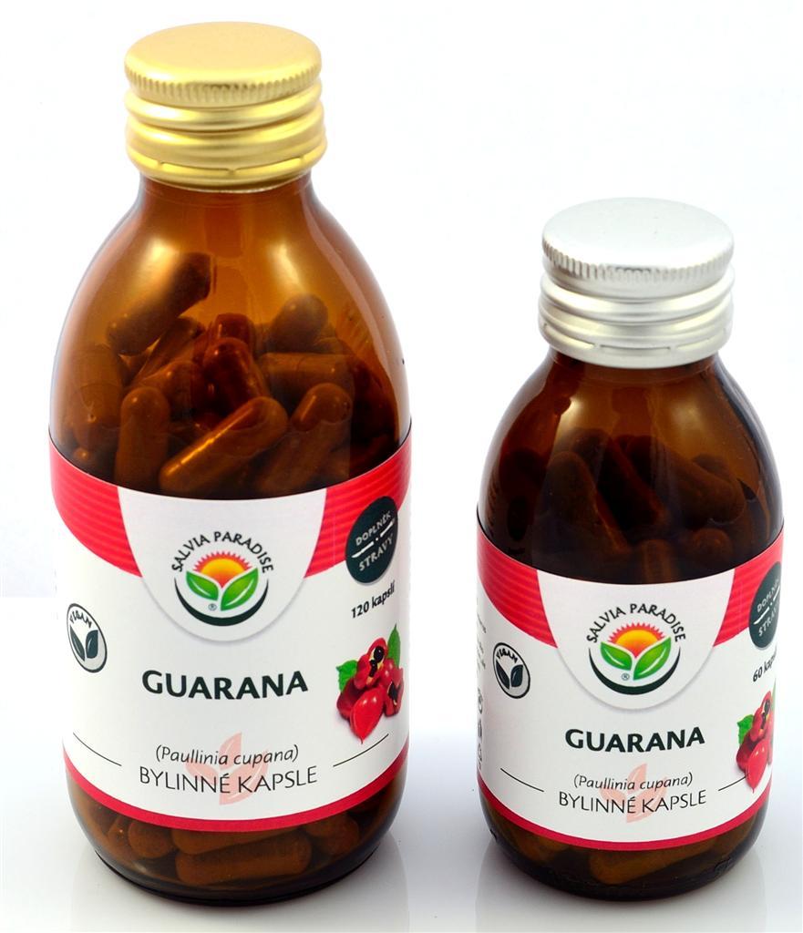 Guarana - Paullinia kapsle 120 ks