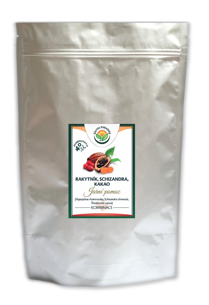 Jarní pomoc - rakytník/schizandra/kakao