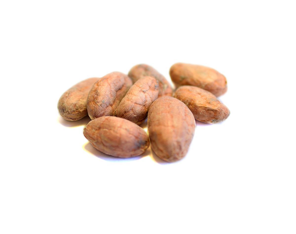 Kakaové boby nepražené celé neloupané Peru