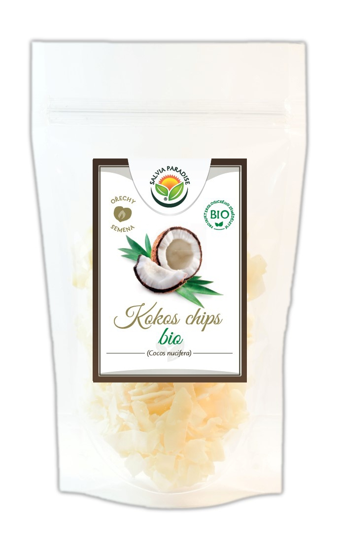 Kokos plátky - chipsy BIO