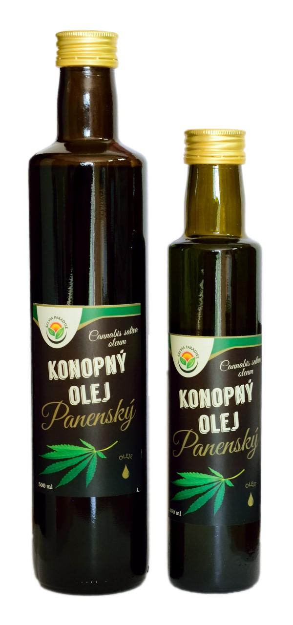 Konopný olej panenský 500 ml