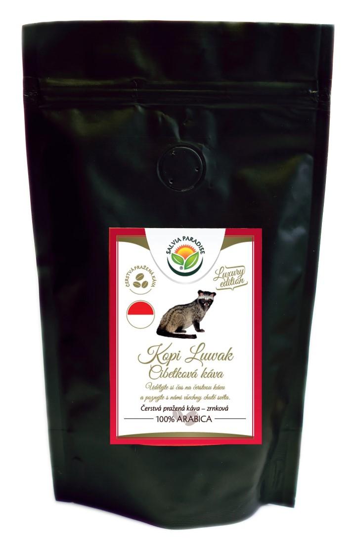 Káva - Kopi Luwak - cibetková káva 30g