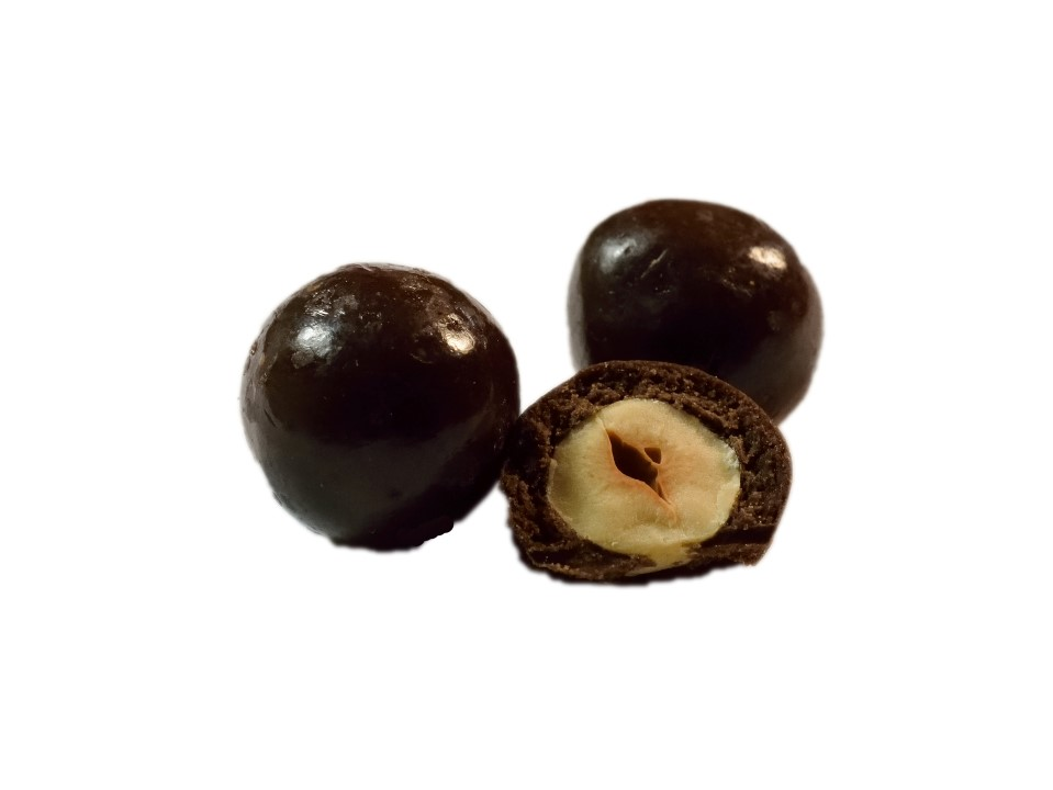 Lísková jádra v hořké čokoládě 700 g
