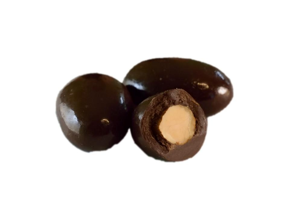Mandle v hořké čokoládě 700 g