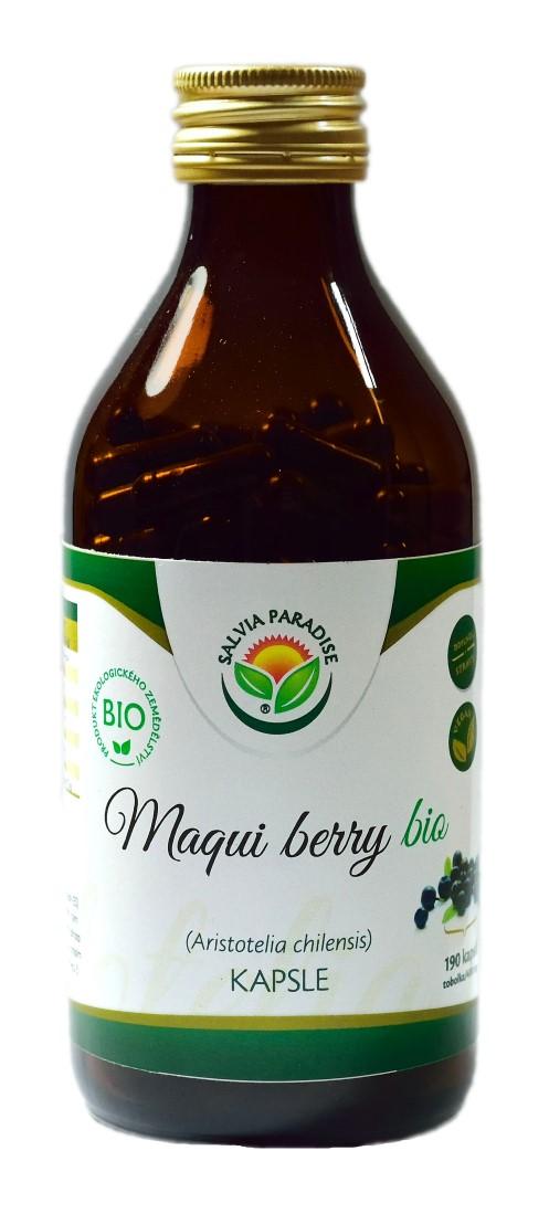 Maqui berry kapsle BIO 190 ks