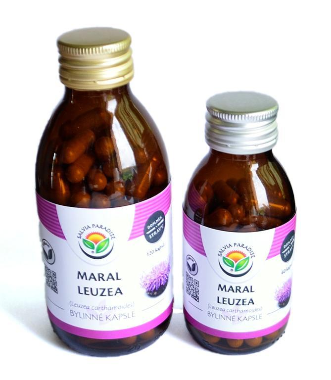 Maral - Leuzea kapsle 60ks
