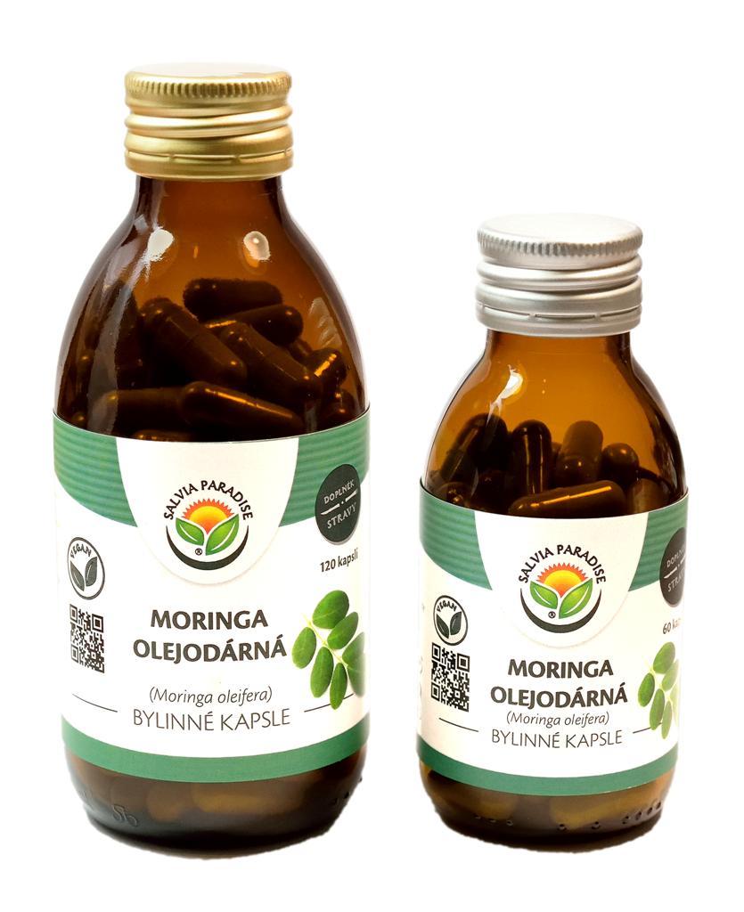 Moringa olejodárná kapsle 60ks