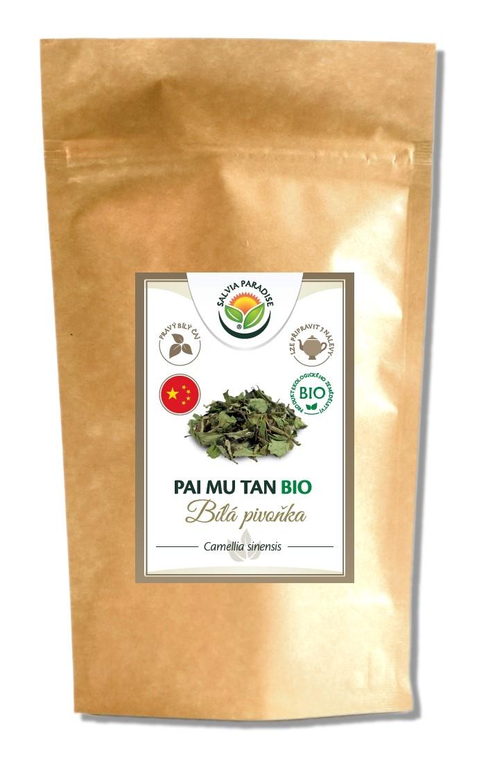 Pai Mu Tan - Bílá pivoňka BIO