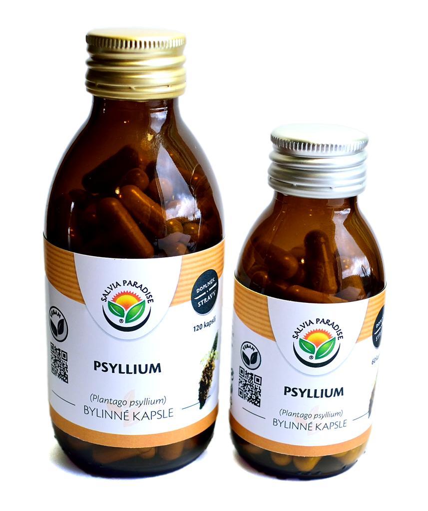 Psyllium kapsle 60ks