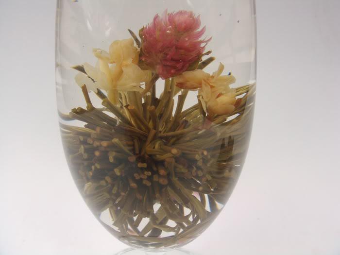 Rozkvetlá zahrada - kvetoucí čaj