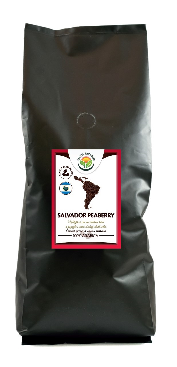 Káva - Salvador Peaberry