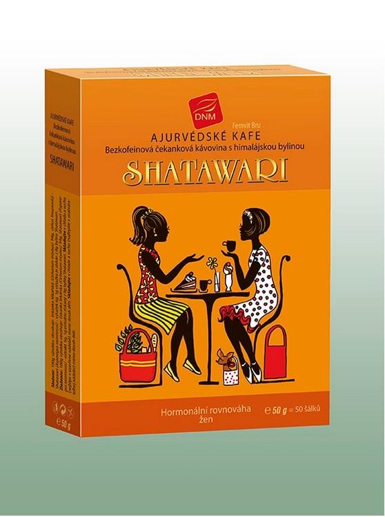 Šatavari - Ajurvédská káva