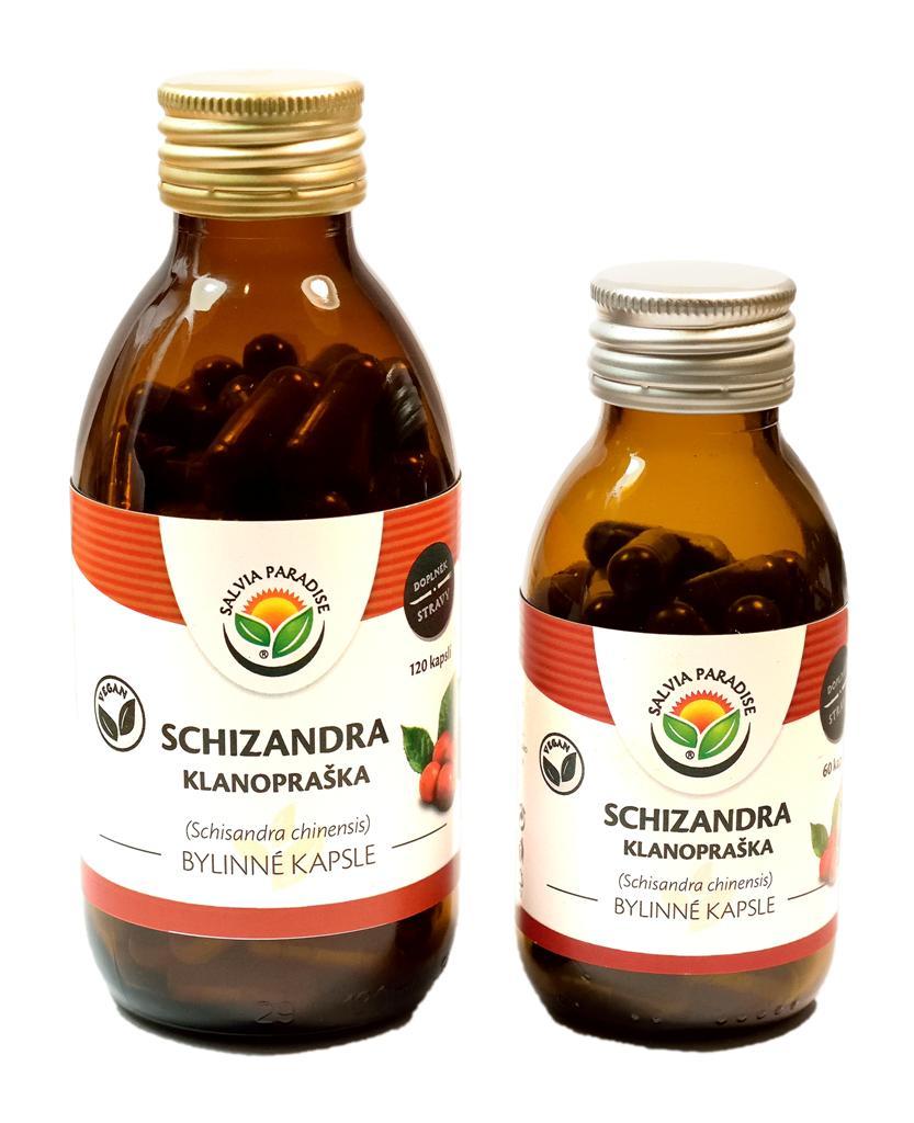 Schizandra bylinné kapsle 60ks