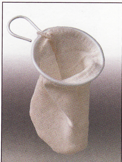 Čajové sítko bavlněné M