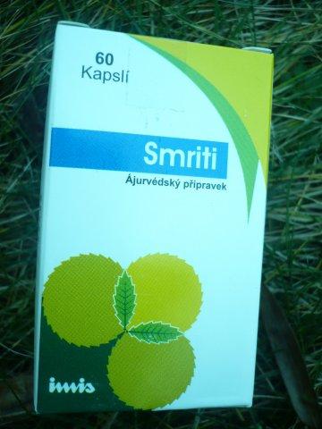 Smriti - BIO bylinné kapsle 60 Ks