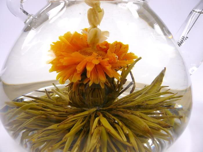 Šťastná láska - kvetoucí čaj