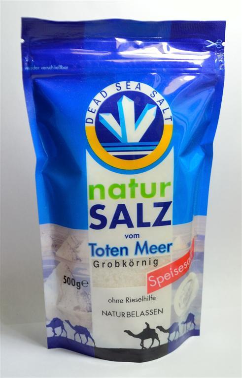 Sůl z Mrtvého moře hrubá - jedlá 500g