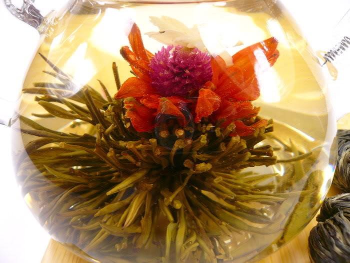 Věčná láska - kvetoucí čaj