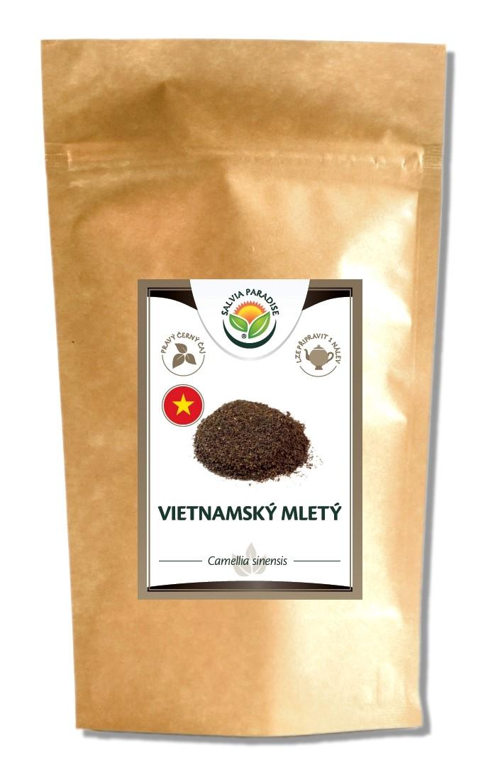 Vietnamský černý mletý čaj